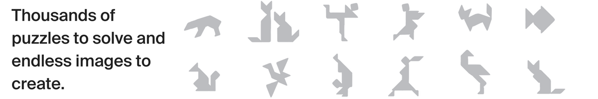 pebbles, tangrams, tangram puzzle, tangram solutions, eco toys, brainteasers