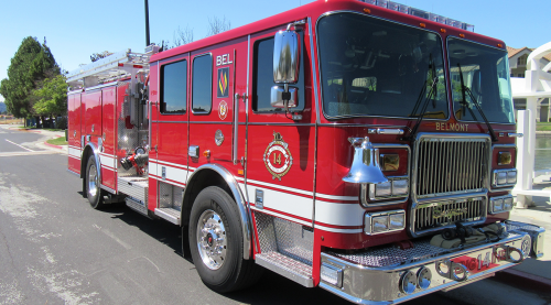 Belmont fire engine 14