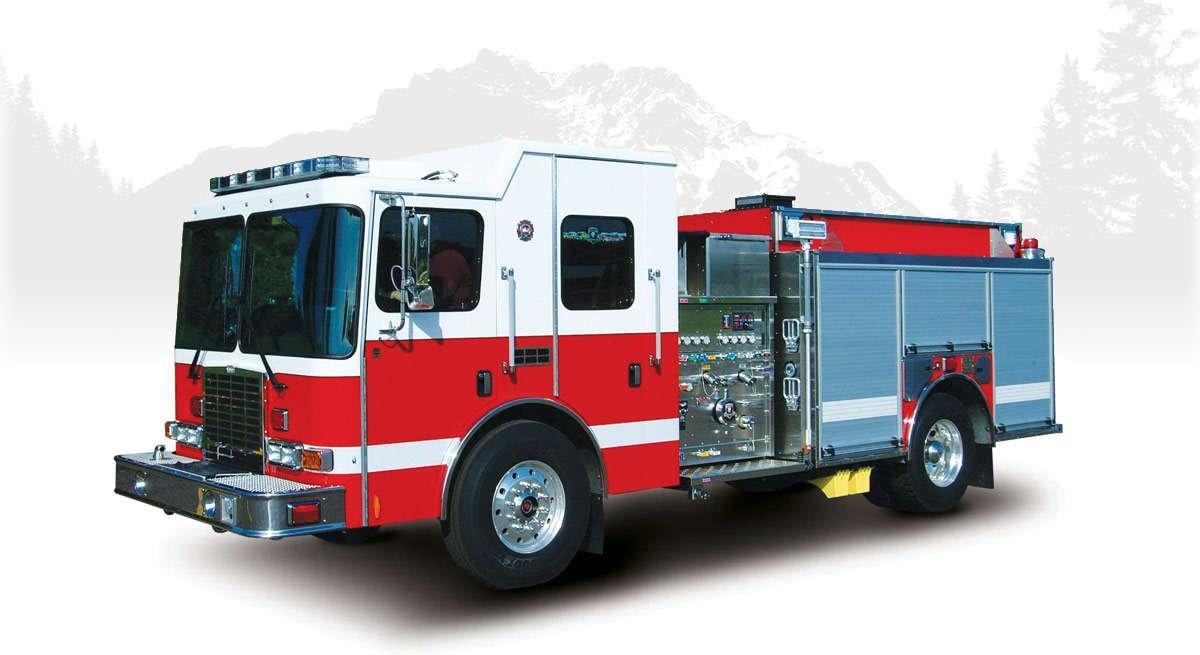 hme silverfox fire engine