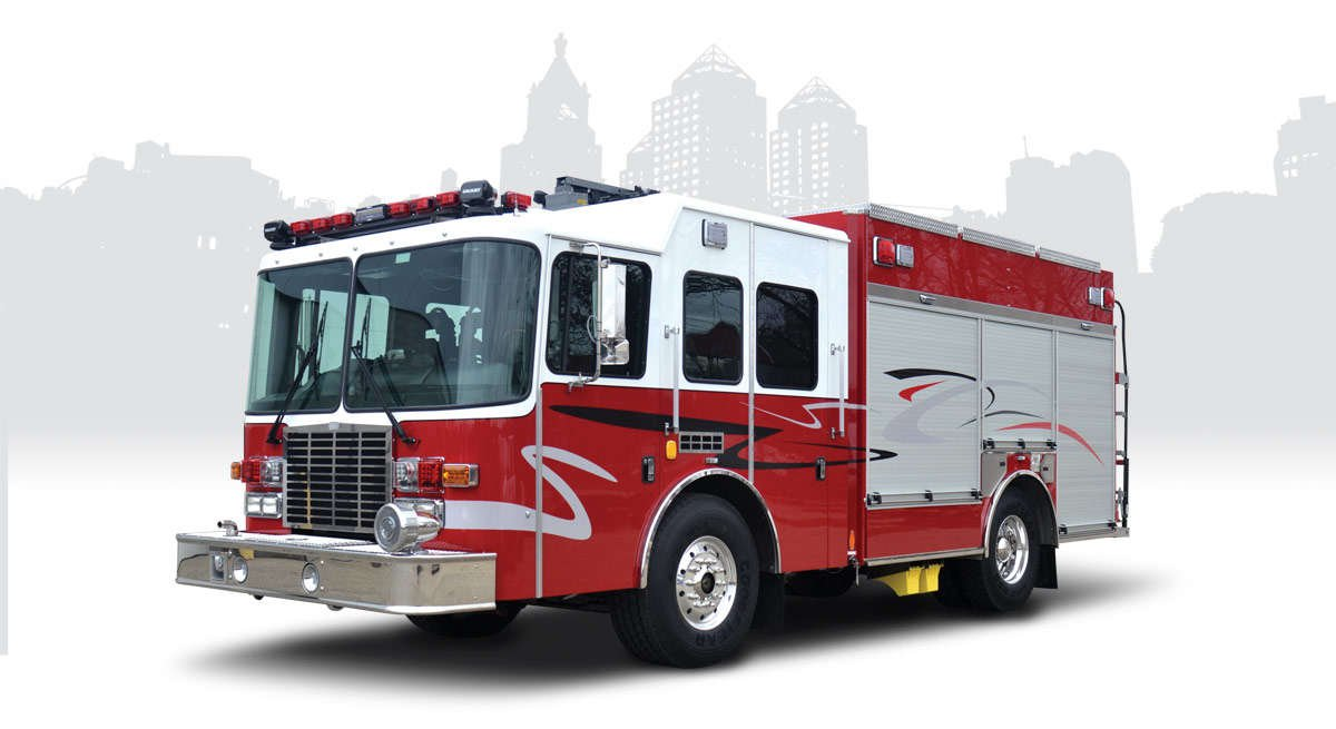 hme rsvp pumper fire engine