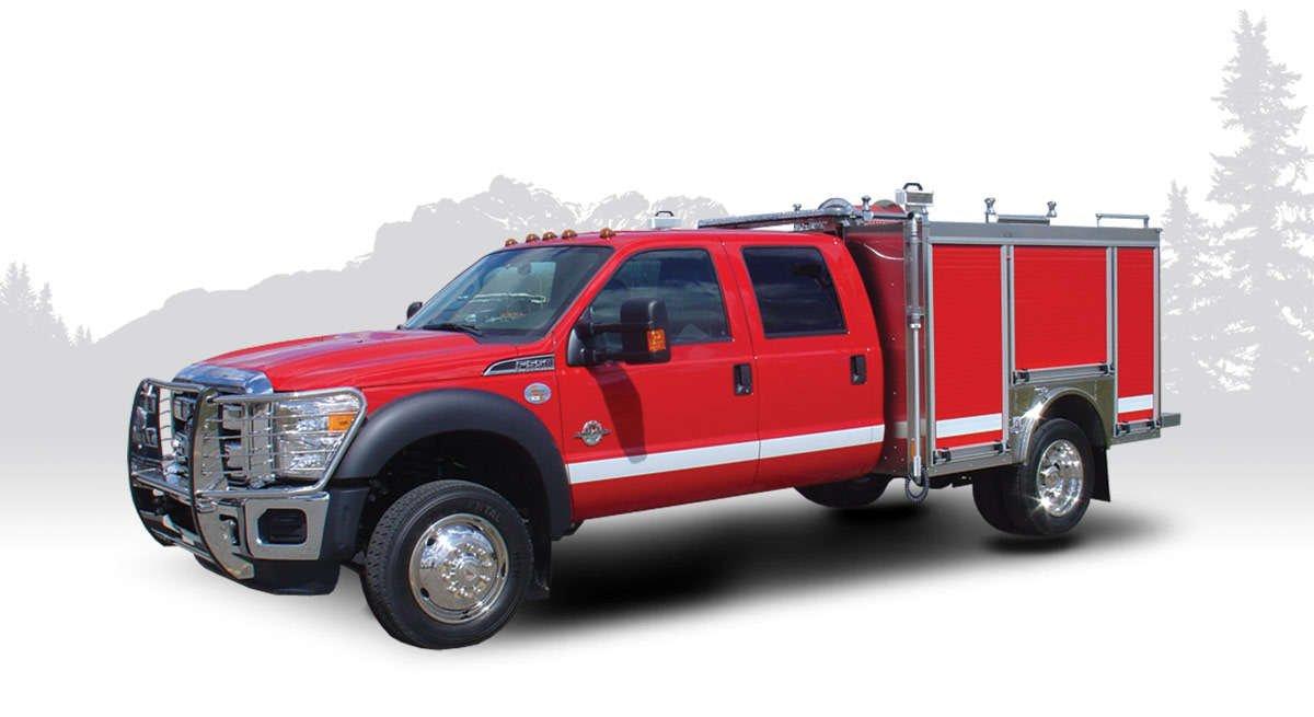 type 6 MUV fire truck