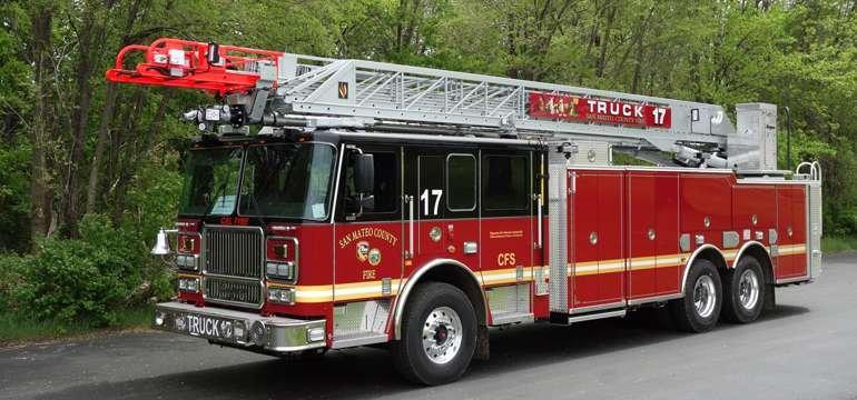 Cal Fire truck 17
