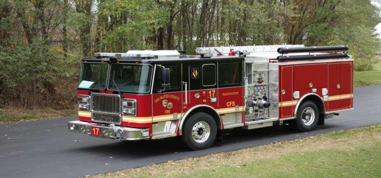 Cal Fire pumper