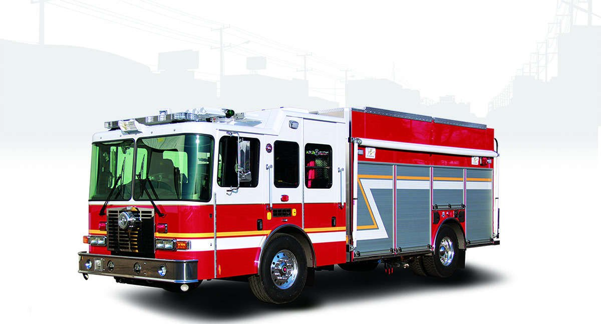 HME rescue hazmat fire engines