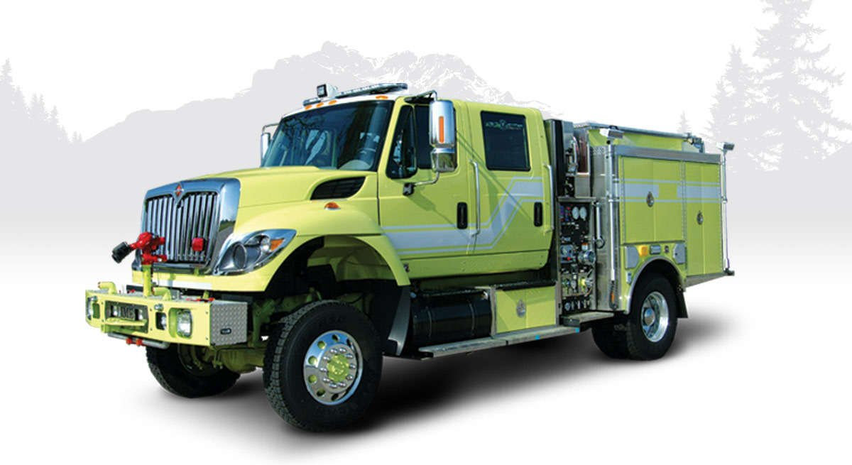 HME wildland fire engines