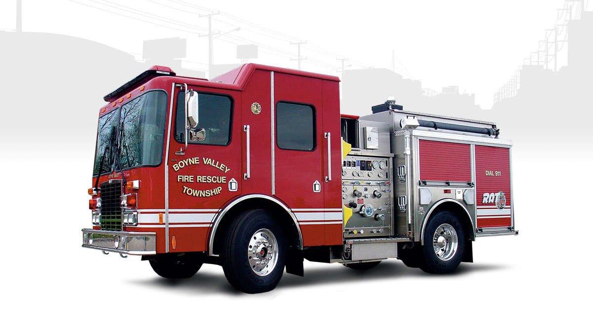 rapid attack fire truck