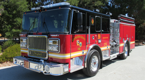 Cal Fire engine 59