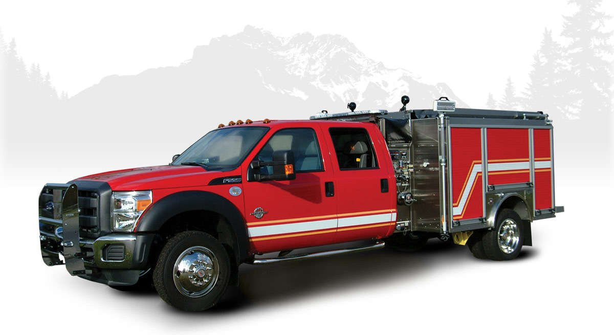 HME mini pumper fire engines