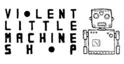 violent little machine shop logo
