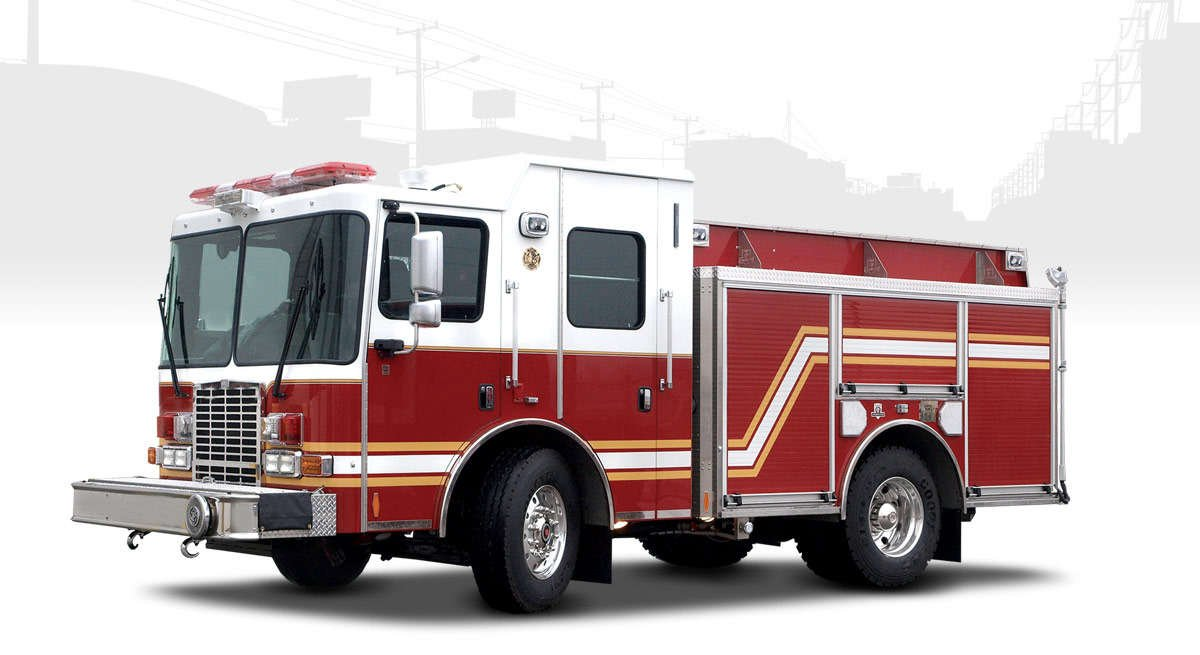 rapid attack 1250 gpm fire truck