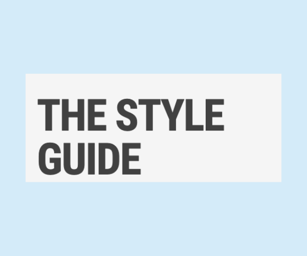 HaloSmile in the style guide