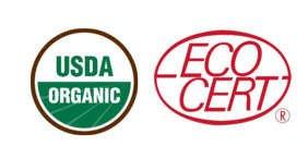 USDA ORGANIC ECOCERT ORGANIC