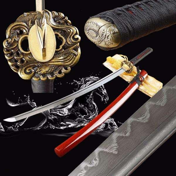 Clay Tempered Samurai Swords