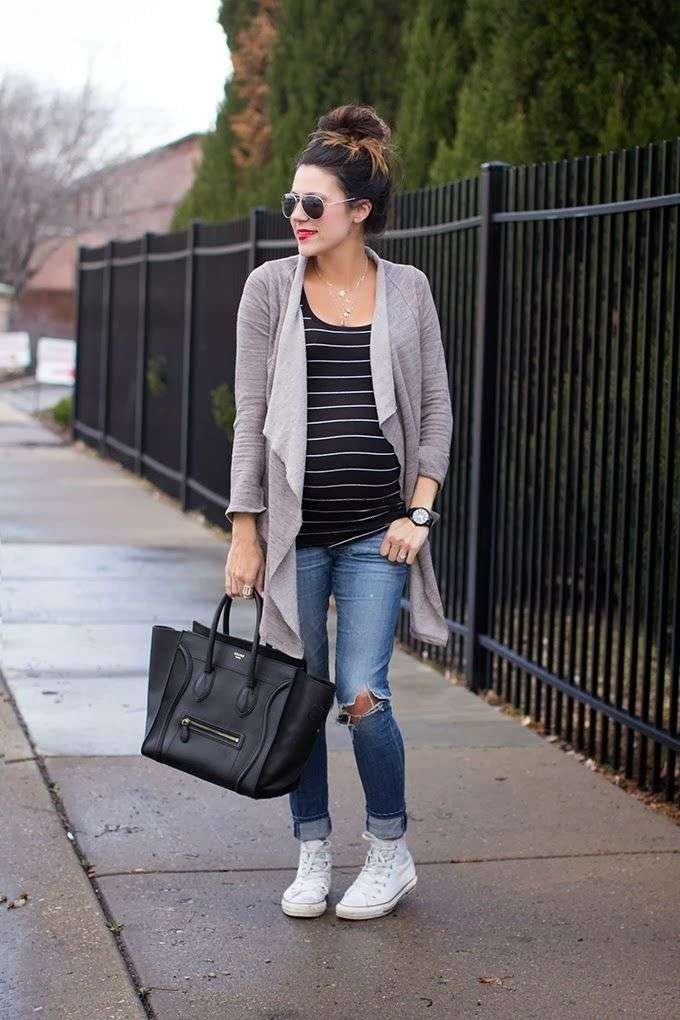 Winter Wardrobe Essentials To Style Your baby Bump
