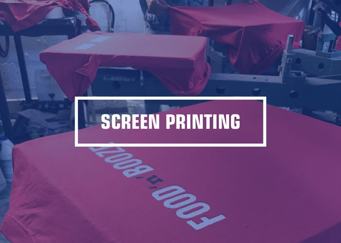 custom colored printed t shirts