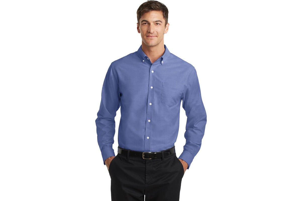 f66d877797e S658 Port Authority SuperPro Oxford Shirt