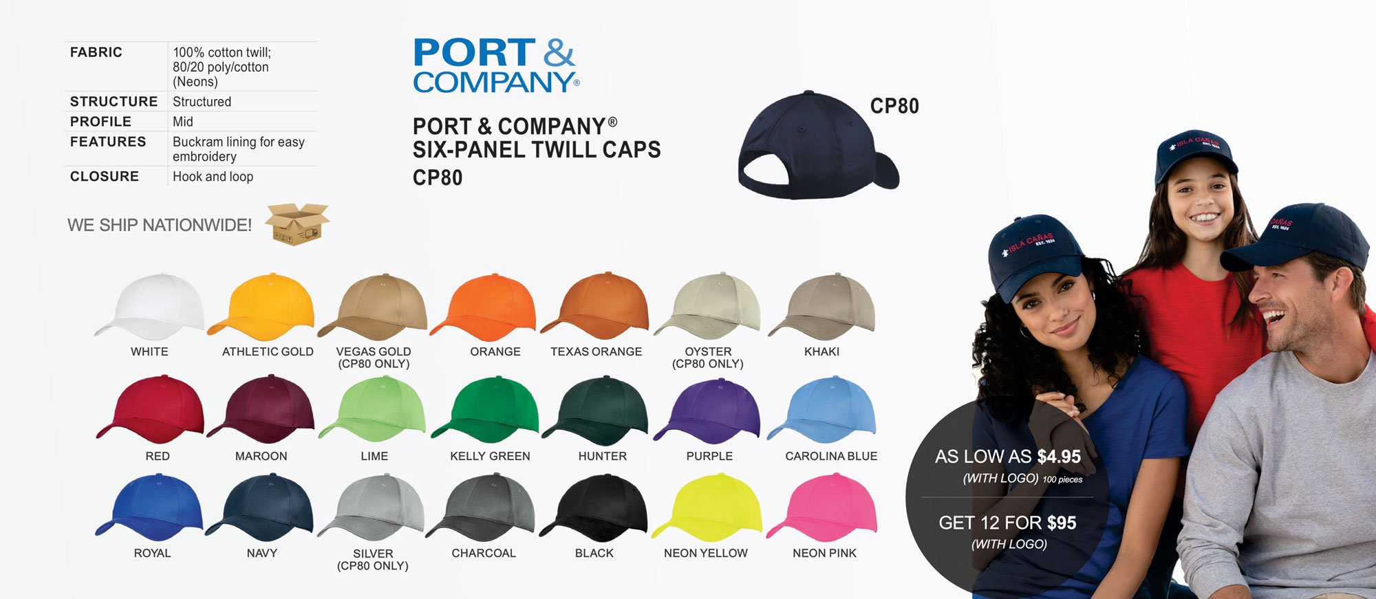 Custom Caps Miami - Warehouse Uniform & Embroidery – WUE