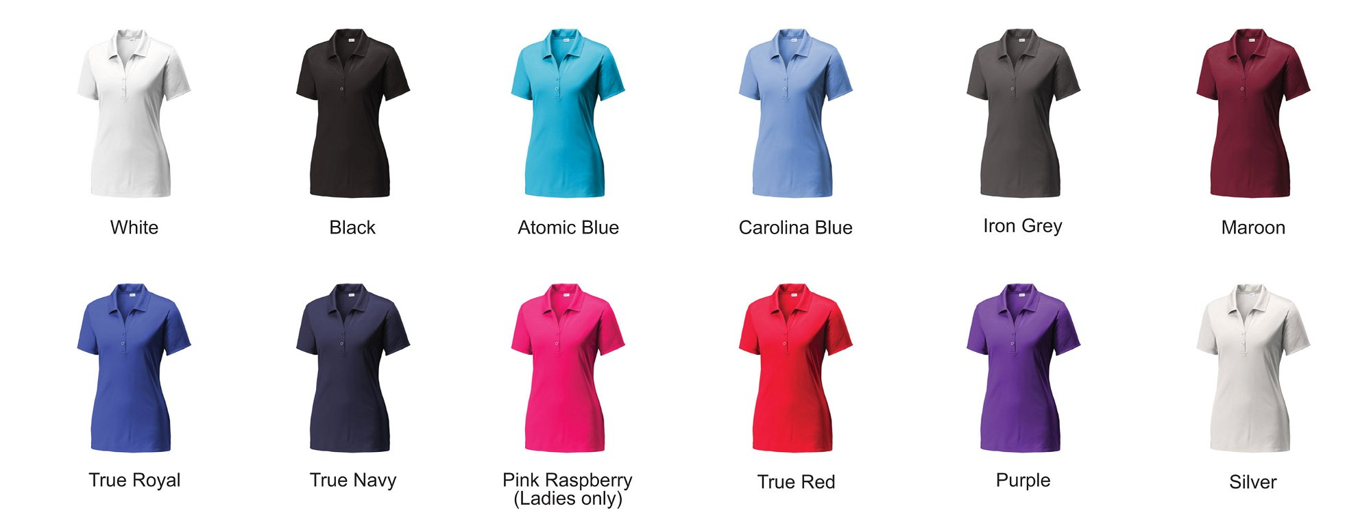 silk touch polo shirt colors