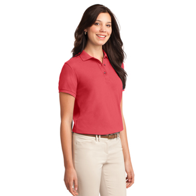 l500 ladies polo side