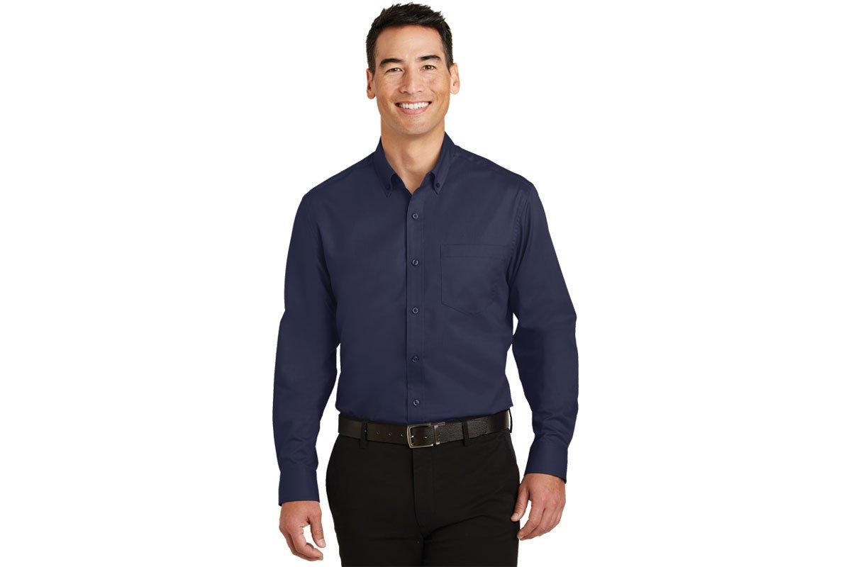 compare shirts Crosshatch Easy Care Shirt