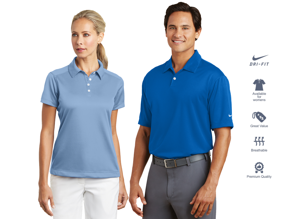 custom embroidered dri fit polo shirts