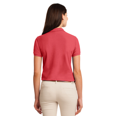 l500 ladies polo back