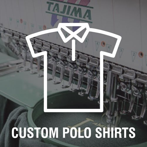 custom polo shirts icon