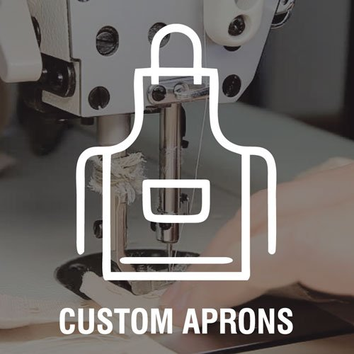 custom aprons icon