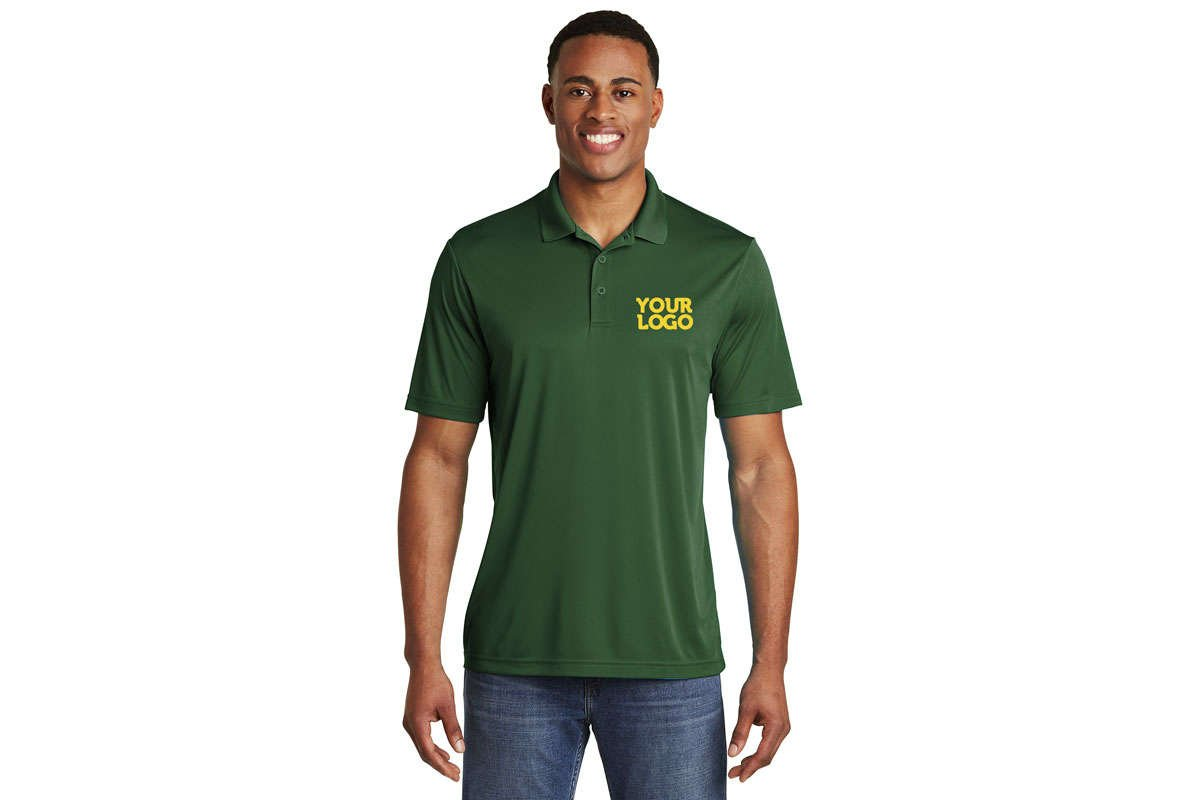 ST550 Competitor polo shirt forest Green