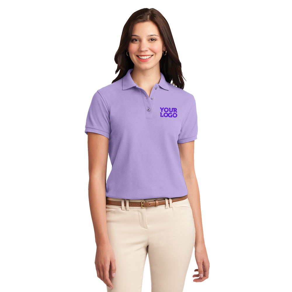 L500 silk touch ladies polo