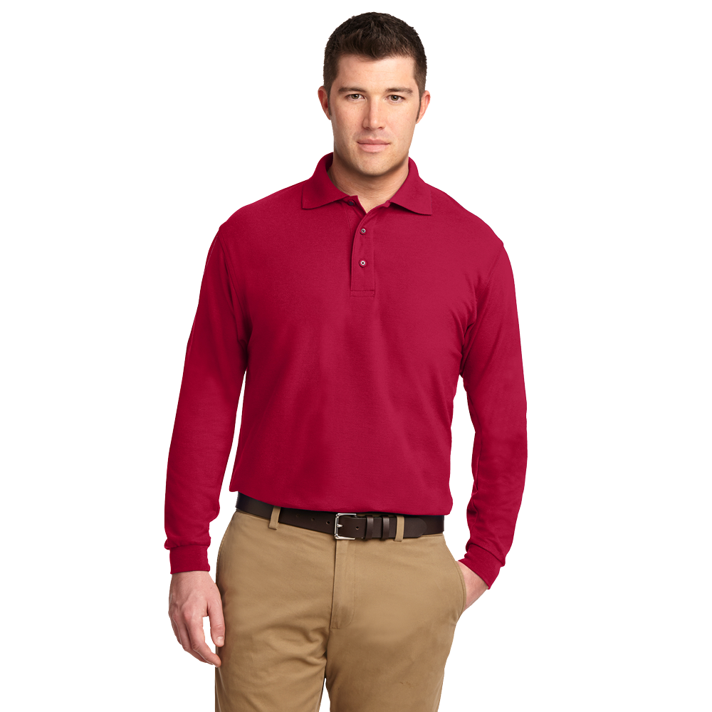 K500LS long sleeve polo