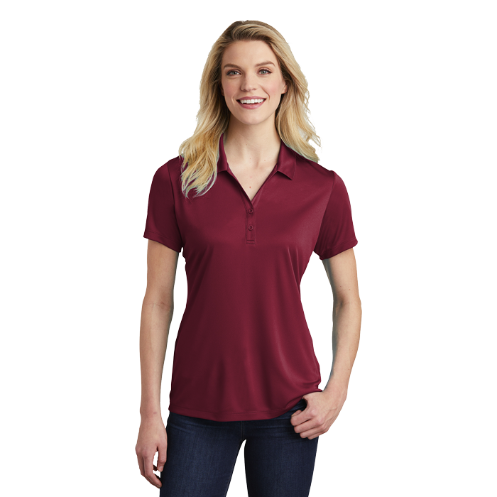 LST550 ladies competitor polo Maroon