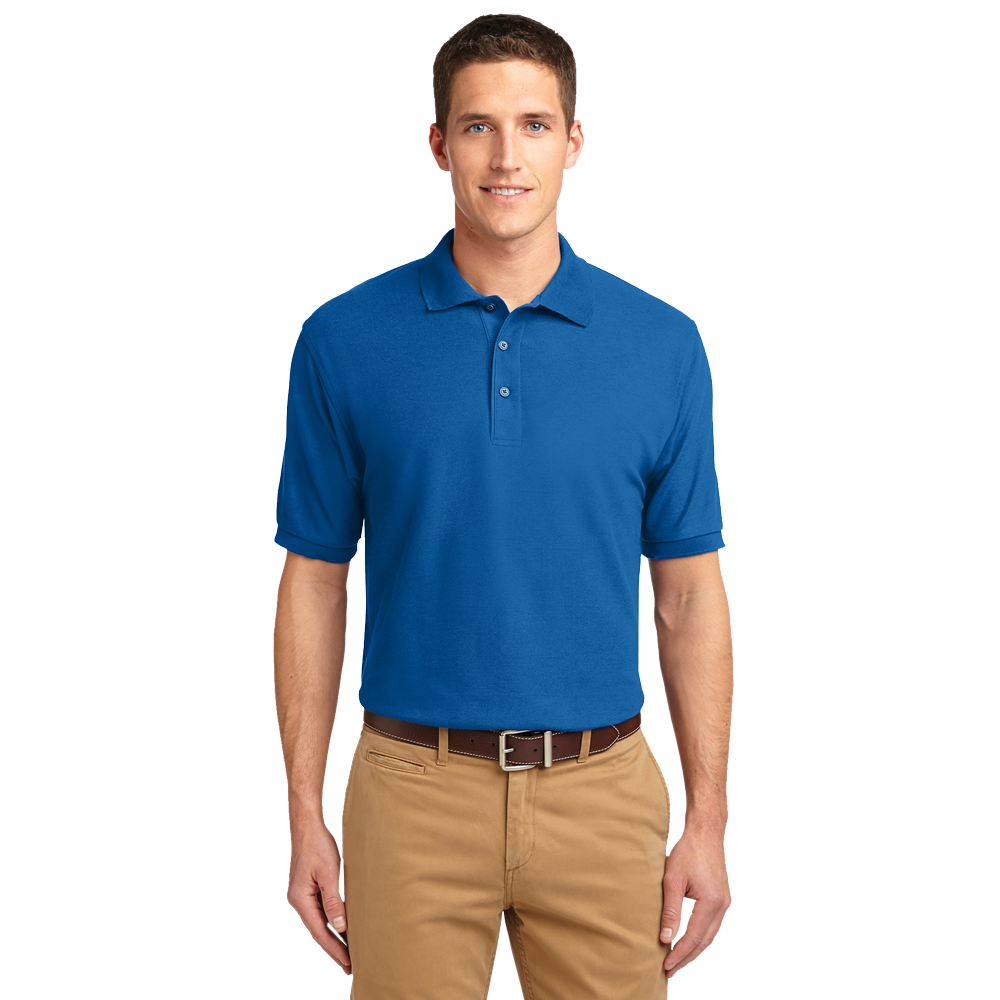 K500 silk touch mens polo