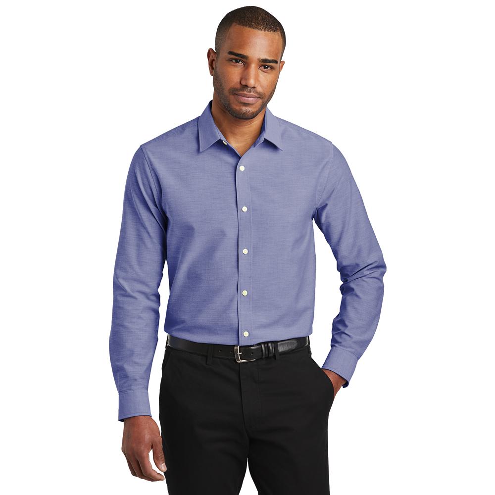 S661 Men's slim fit oxford shirt