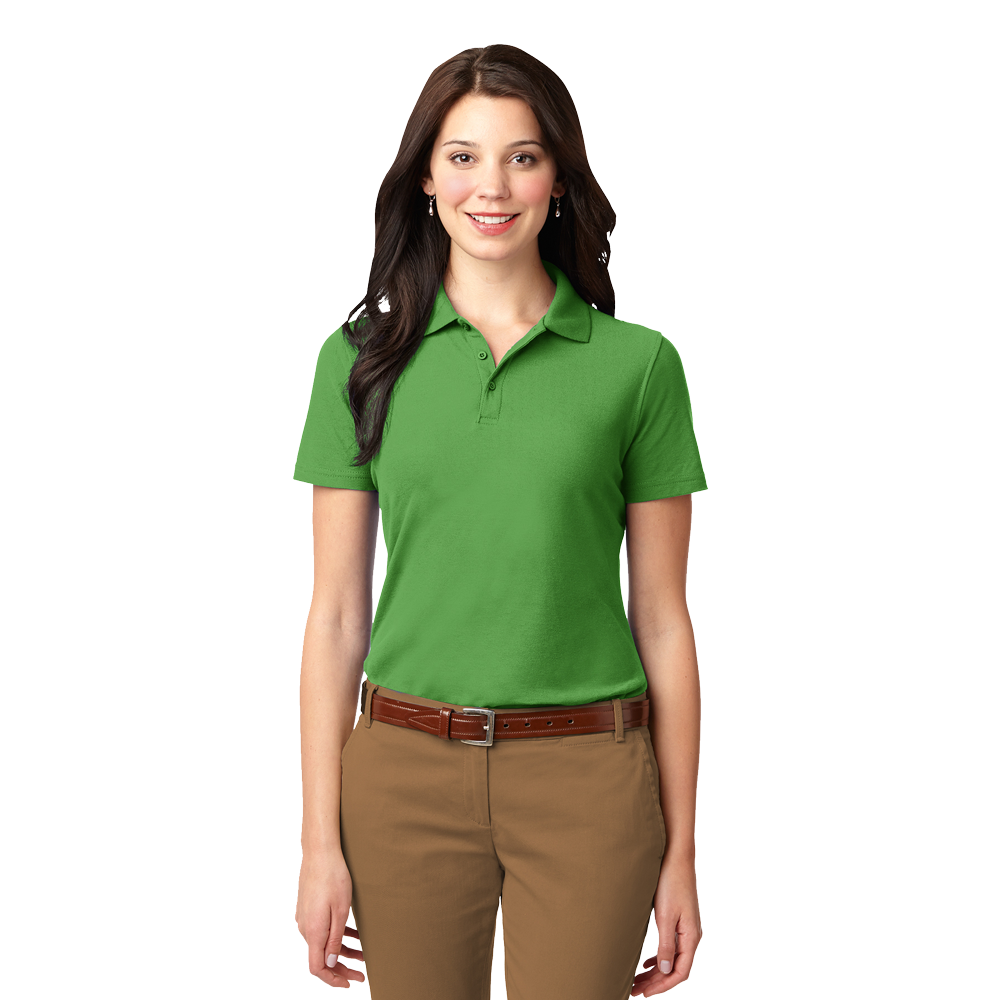 L510 ladies stain resistant polo
