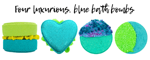 Blue Bath Bombs
