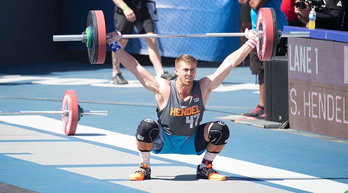 Spencer Hendel CrossFit Lifting