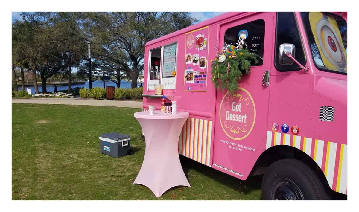 Got Dessert Food Truck  at the Lake Serving up the Finest Desserts