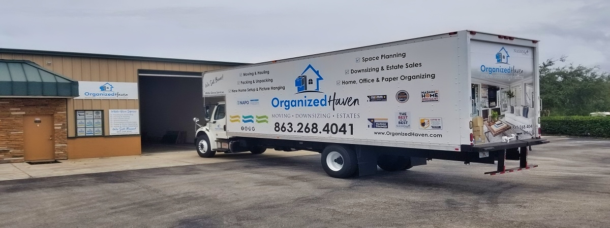Organized Haven Office Building, Warehouse and Moving Truck Lakeland Florida