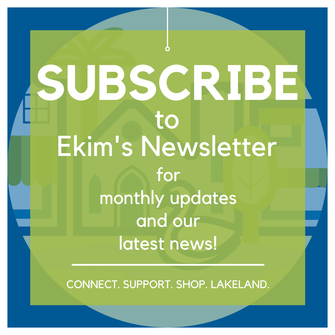 Subscribe to Ekim's Place Newsletter for monthly updates and our latest news!