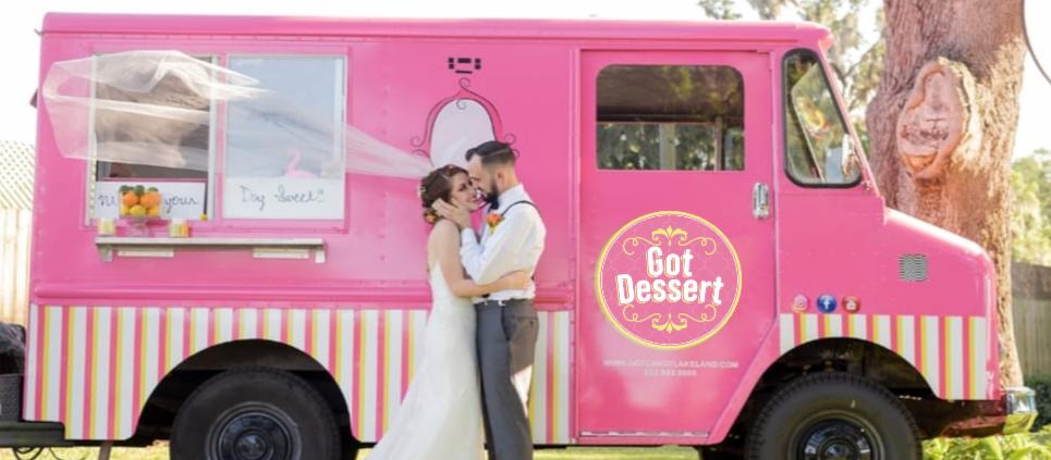 Got Dessert Food truck Serving a Lakeland Wedding