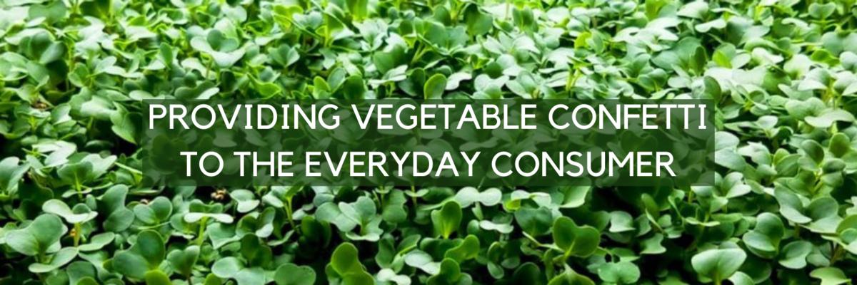 Vitality Farms Company - Providing vegetable confetti to the every day consumer