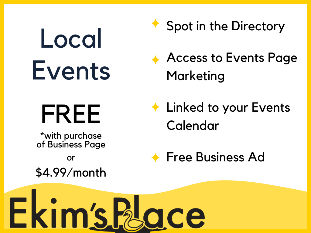 Local Events Directory - Businesses Dedicated to Tracking & Posting Lakeland Events