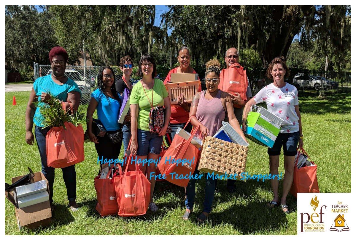 PEF Free Teacher Market  - Happy Shoppers Polk County