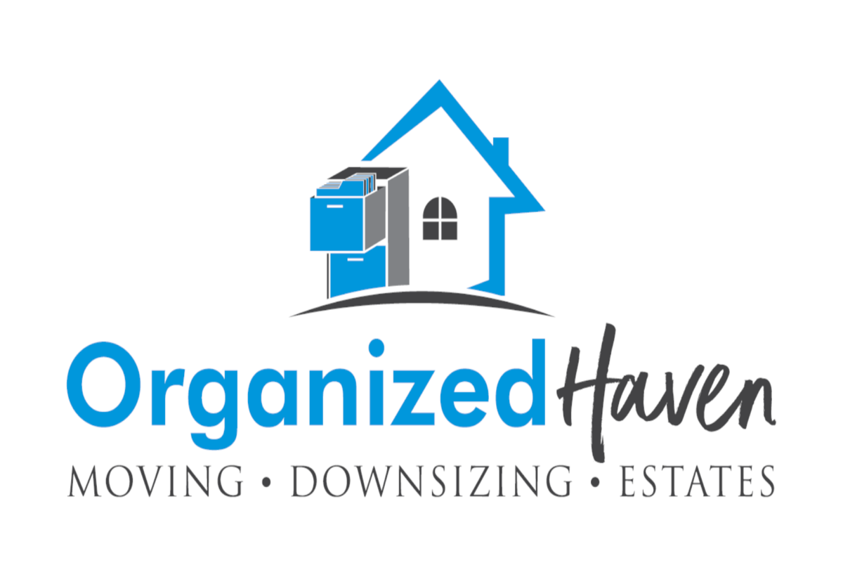 Organized Haven's Logo Moving, Downsizing and Estates Services