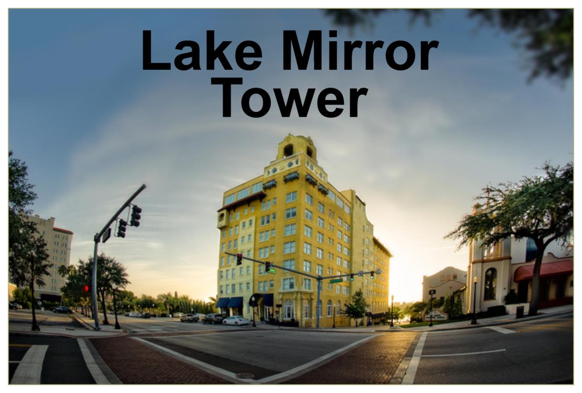 Lake Mirror Apartments Downtown Lakeland Florida