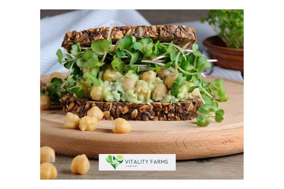 Vitality Farms Company Local, Non-GMO, Pesticide Free Microgreens
