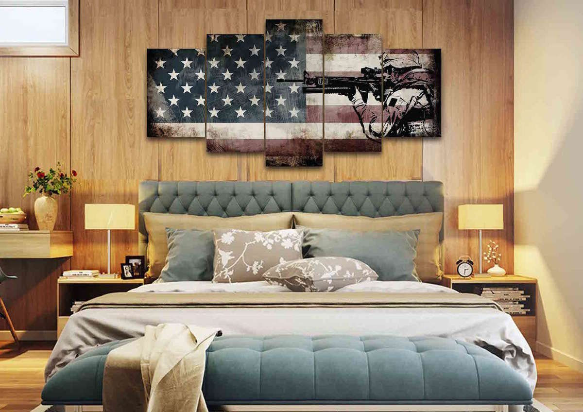 photo bedroom of com minimalist marceladick modern wall diy gallery with decor at