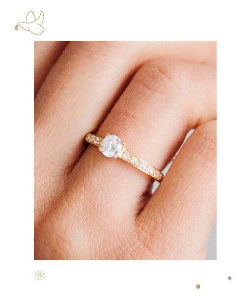 Christmas Engagement Rings