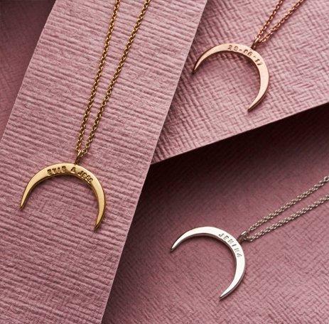 Women's Engraved Jewelry